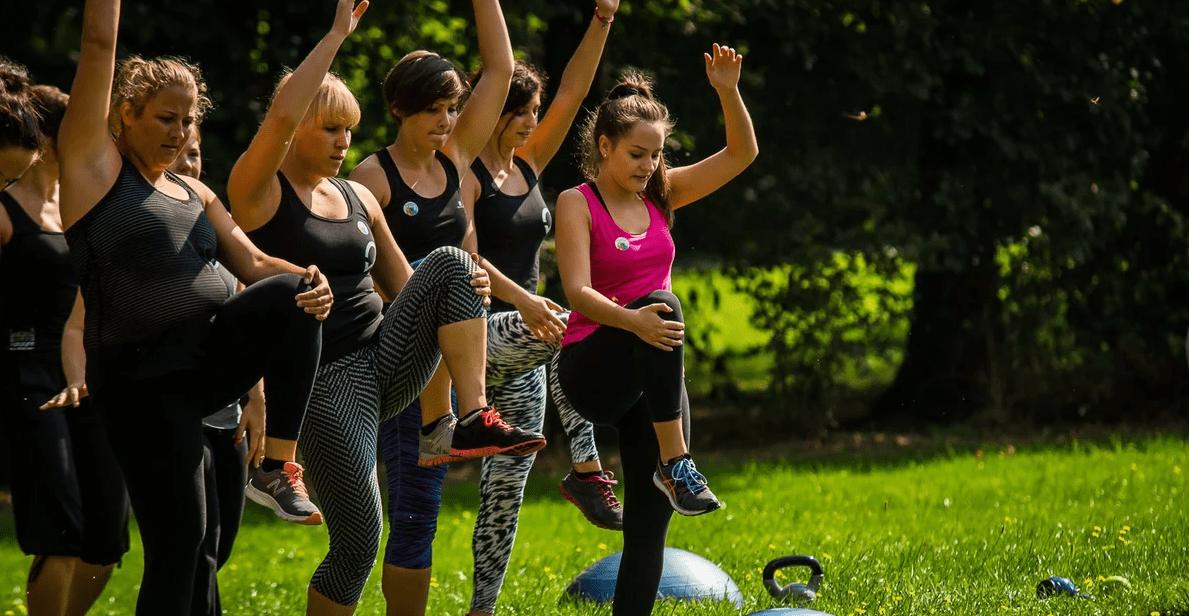 Тренировки на открытом воздухе в Москве