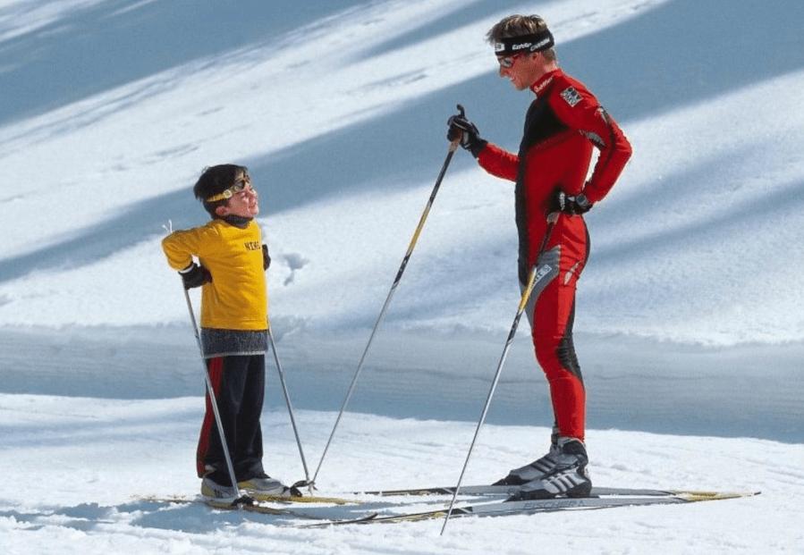 Беговые лыжи для детей