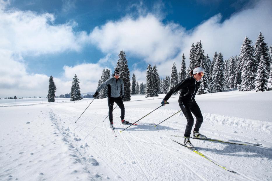 Тренировки по беговым лыжам