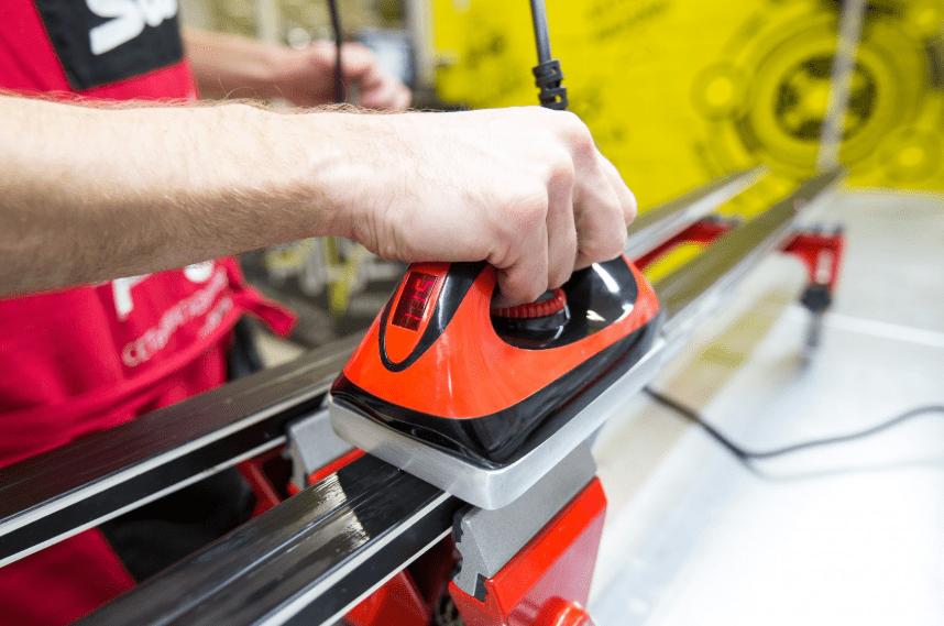 Подготовка и сервис беговых лыж