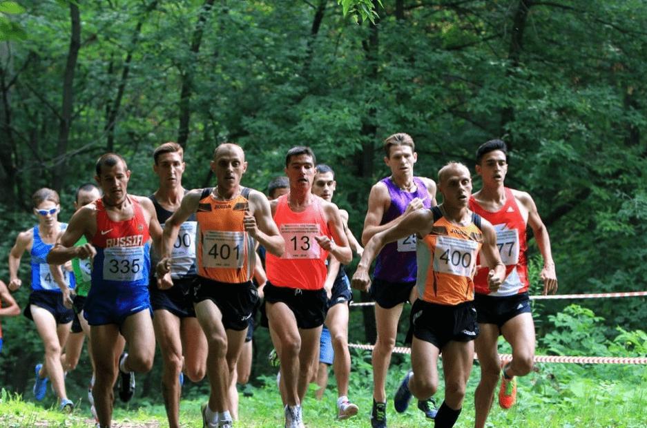 Подготовка к соревнованиям побегу